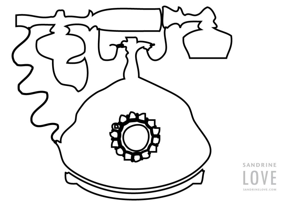 Telephone-Illustration